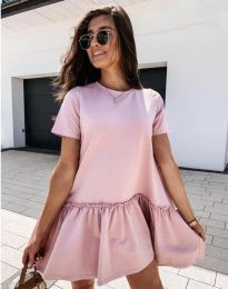 Šaty - kód 11890 - růžová