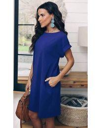 Šaty - kód 659 - tmavě modrá