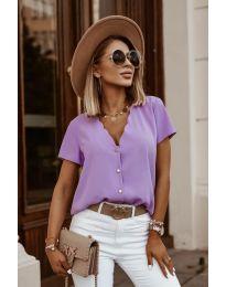 Tričko - kód 0606 - fialová
