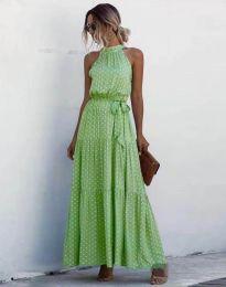 Šaty - kód 6214 - zelená