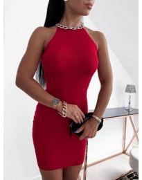 Šaty - kód 9690 - červená