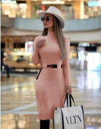 Šaty - kód 2932 - růžova