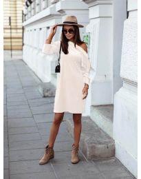 Šaty - kód 8171 - bílá