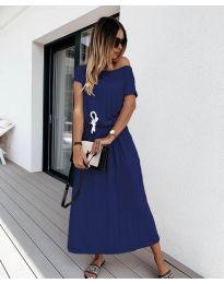 Šaty - kód 4151 - tmavě modrá