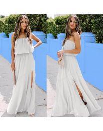Šaty - kód 061 - bílá