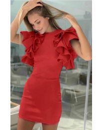 Šaty - kód 939 - červená