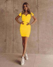 Šaty - kód 1842 - žlutá