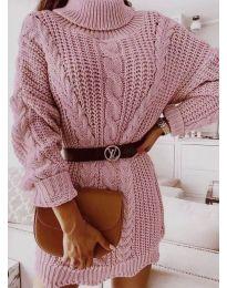 Šaty - kód 6071 - pudrová