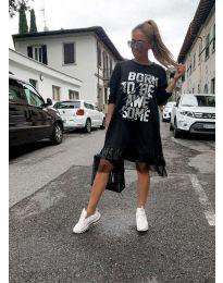 Šaty - kód 5468 - černá