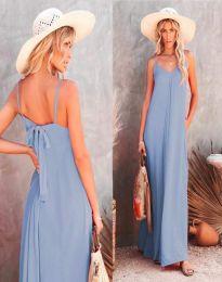 Šaty - kód 4673 - světle modrá