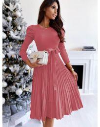 Šaty - kód 3939 - růžová