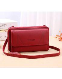 kabelka - kód B105 - červená