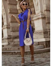Šaty - kód 7045 - tmavě modrá