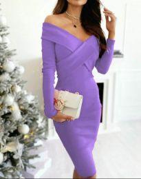 Šaty - kód 6130 - 11 - fialová