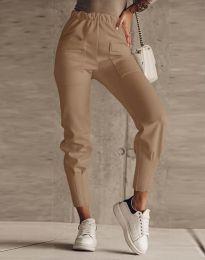 Kalhoty - kód 2252 - hněda