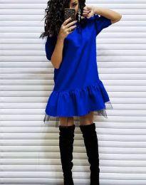 Šaty - kód 2856 - modrá