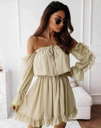 Šaty - kód 0223 - barva šampaňské