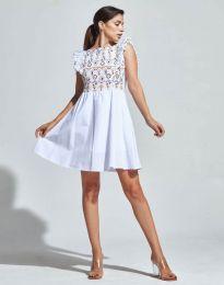 Šaty - kód 1482 - 5 - bíla