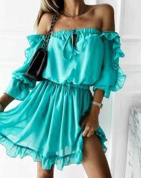 Šaty - kód 0223 - tyrkysový