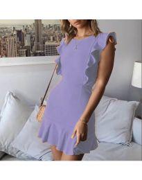 Šaty - kód 548 - fialová
