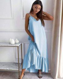 Šaty - kód 4671 - světle modrá