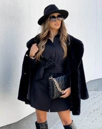 Kabát - kód 4664 - 2 - černá