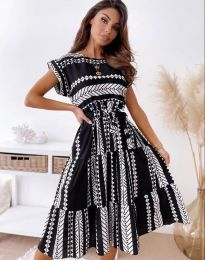 Šaty - kód 2660 - černá