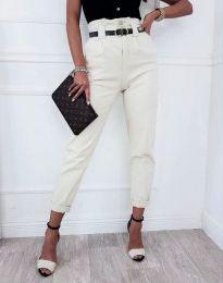 Kalhoty - kód 4655 - bílá