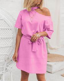 Šaty - kód 5848 - 4 - růžová