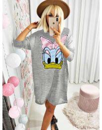 Šaty - kód 0706 - šedá
