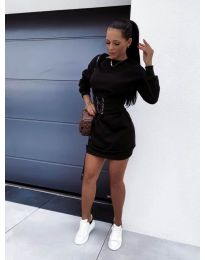 Šaty - kód 165 - černá