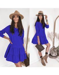 Šaty - kód 8486 - modrý