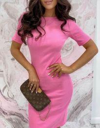 Šaty - kód 44477 - růžová