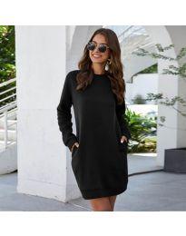 Šaty - kód 785 - černá
