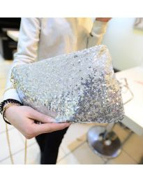 kabelka - kód B24 - stříbro