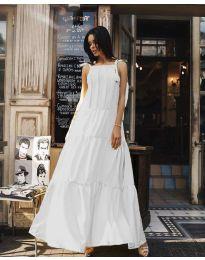 Šaty - kód 1105 - bílá