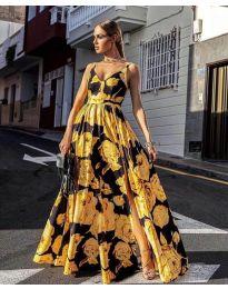 Šaty - kód 5520 - žlutá