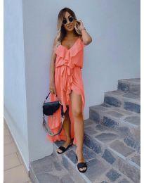 Šaty - kód 0081 - oranžová