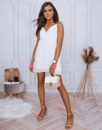 Šaty - kód 0890 - 2 - bílá