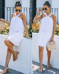 Šaty - kód 9103 - bíla