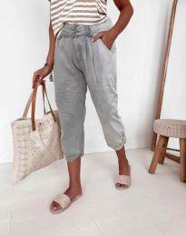 Kalhoty - kód 8493 - 1 - šedá