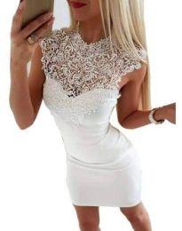 Šaty - kód 2546 - bíla