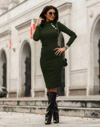 Šaty - kód 7099 - 7 - tmavozelená