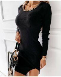 Šaty - kód 4545 - černá