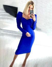 Šaty - kód 3865 - modrá