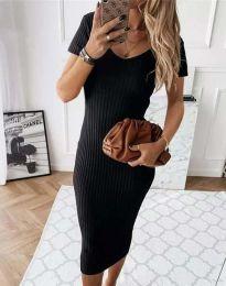 Šaty - kód 0714 - 2 - černá