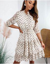 Šaty - kód 8877 - 4 - vícebarevné