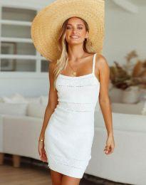 Šaty - kód 10099 - bíla