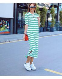 Šaty - kód 9910 - zelená