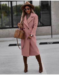 Kabát - kód 9493 - růžová